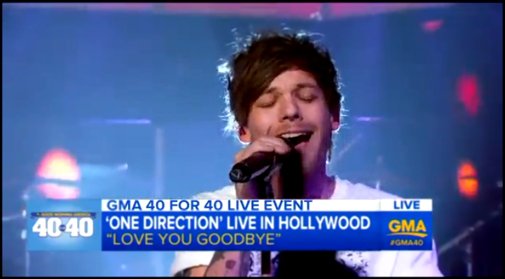 One Directions First Performance of Love You Goodbye  17 11 2015