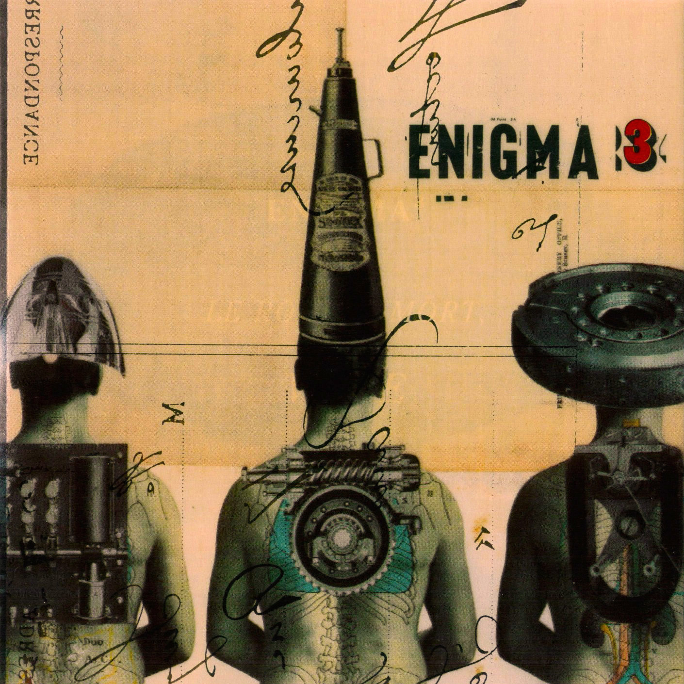(1996) Enigma  Le Roi Est Mort, Vive Le Roi (CD, Album) - Beyond The Invisible