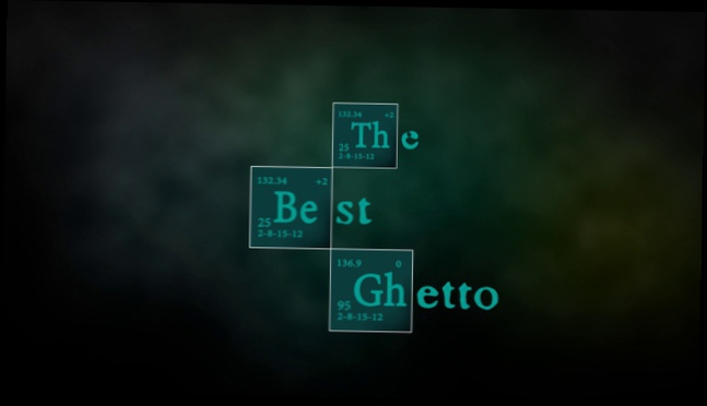 "THE BEST GHETTO Title (""Breaking Bad"" Style, ""Во все тяжкие"")"