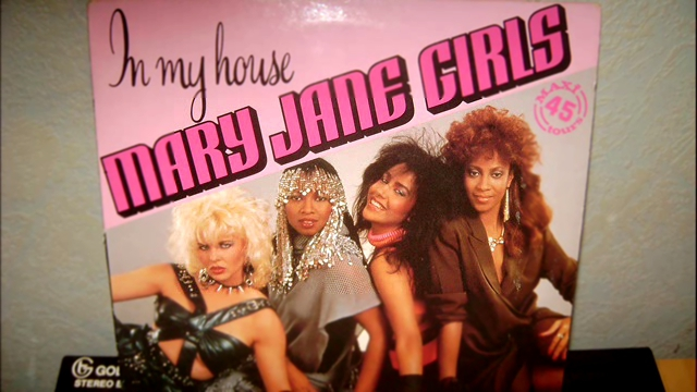 MARY JANE GIRLS - in my house (vocal)