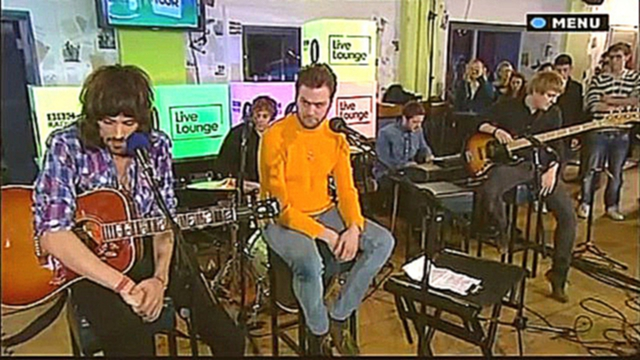 Kasabian - Video Games (Lana Del Rey cover) BBC Radio 1 Student Tour 2011