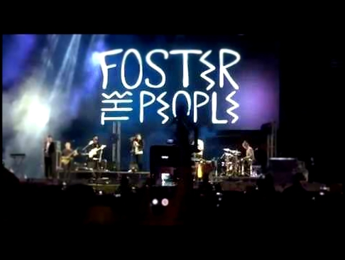 Foster the People - Pumped up Kicks Completo. Lollapalloza 2015 Argentina