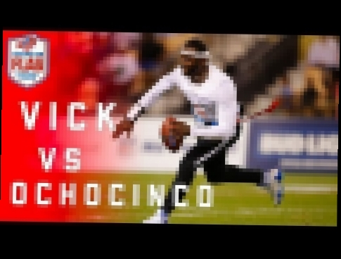 Flag Football Highlights Semifinals Game 2: Ochocinco takes on Michael Vick! | NFL