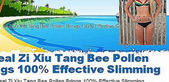 Zi Xiu Tang Bee Pollen Capsules for Weight Loss