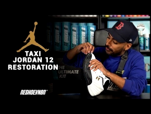 Vick Almighty Restores 2008 CDP Jordan Taxi 12 Using Reshoevn8r!