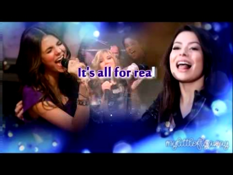Miranda Cosgrove   Victoria Justice  Leave It All To Shine Karaoke