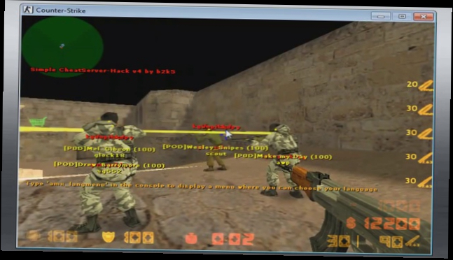 CS 1.6 Wallhack   Aimbot New 2014 (Updated Download)