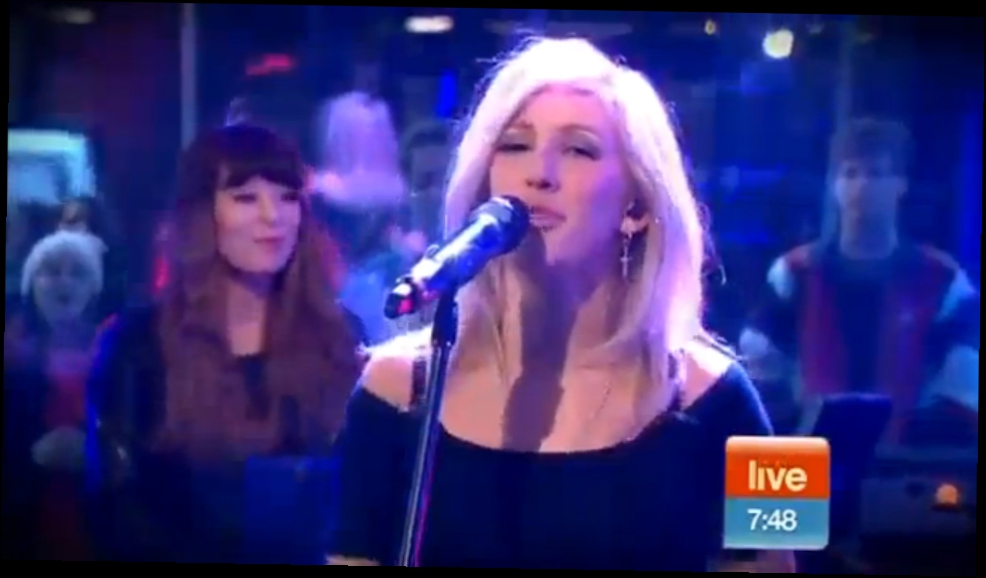 Ellie Goulding - Burn (Live on Sunrise)