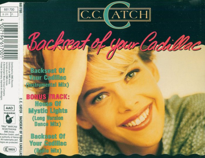 CC Catch - Backseat Of Your Cadillac