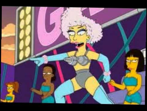 Homer Face-Lady Gaga Ft. Homer Simpson