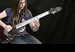 14 year old girl playing guitar cover Van Halen - Eruption solo HD best quality