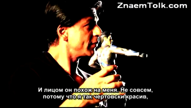 SRK talks about the Superhero with a H.A.R.T. c русскими субтитрами