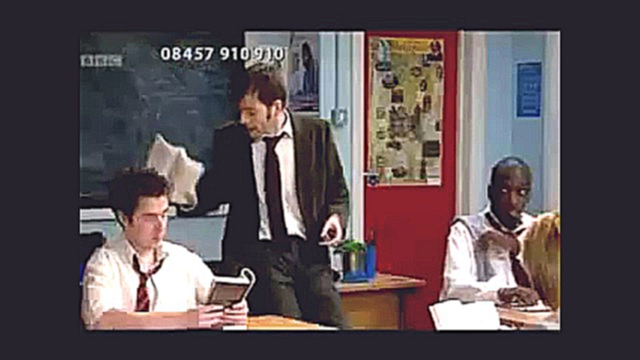 David Tennant tries to teach English to Catherine Tate VOSTFR