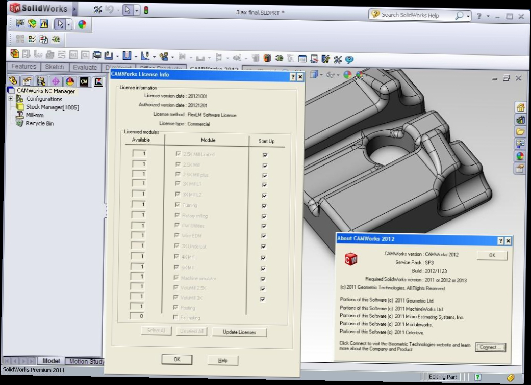 2011 solidworks Solidworks 2011 sp00 (x32/x64) full multilanguage editions + applications | 522 gb | 551 gb | 155 gb solidworks - computer-aided design, engineering analysis and manufacture of products of any complexity and purpose.